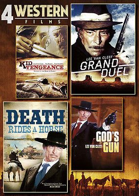 4 Western Films: Kid Vengeance/Grand Duel/Death Rides a Hor (DVD Used Very Good)