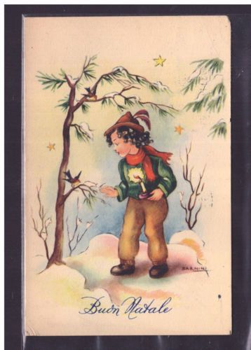 Cartolina-Buon-Natale-Illustratore-Barnini-YA196