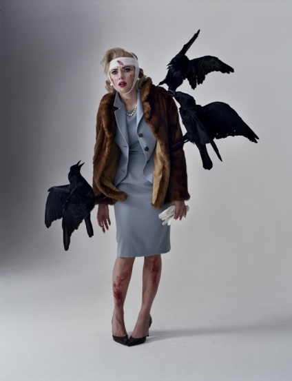 Alfred Hitchcock The Birds Costume
