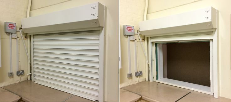 Last year installation of our RSG5700 4Hour Fire Rated Steel Security Roller Shutter to a school kitchen area in London.