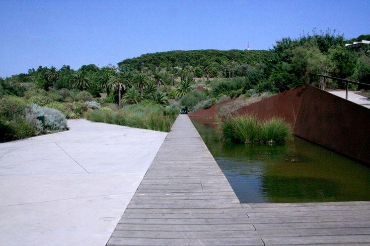 El Jardín Botánico de Barcelona by Bet Figueras, Carlos Ferrater and Josep Lluís Canosa