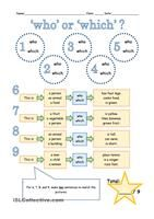 Defining and Non - defining relative clauses 2 pages worksheet with grammar guide - ESL worksheets