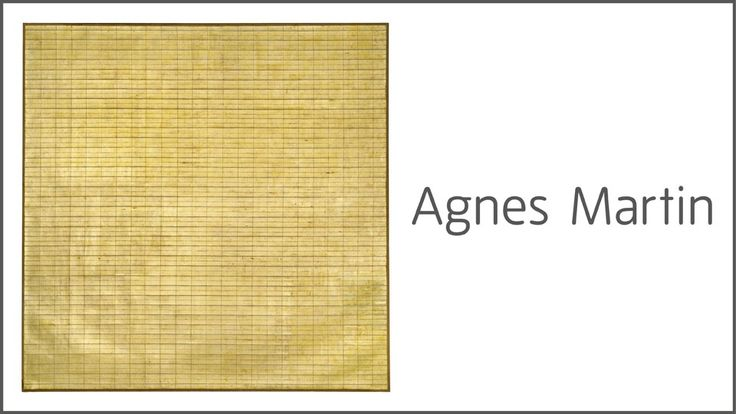 Agnes Martin [Tate Modern]