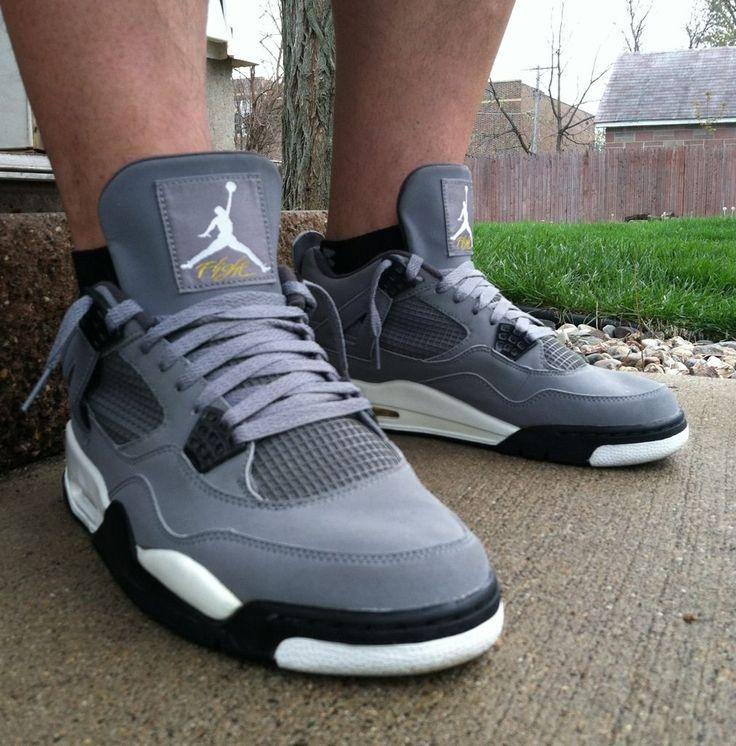 """Cool Grey"" Air Jordan Retro 4."