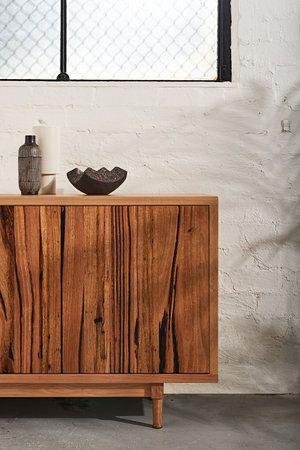MATCHSTIX SIDEBOARD by Ingrain Designs ( Melbourne based furniture makers)