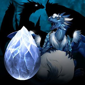 Ice Dragon - AqDragons - Adventure Quest Dragons - A Cookie Clicker collaboration game ...
