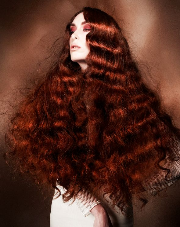 Making waves.  http://www.amazon.com/Diane-Magnetic-Hair-Rollers-Aqua/dp/B001A2T5IK