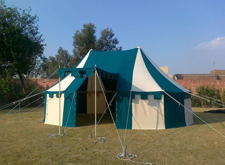 Historisches Lagerzelt in runder Form!
