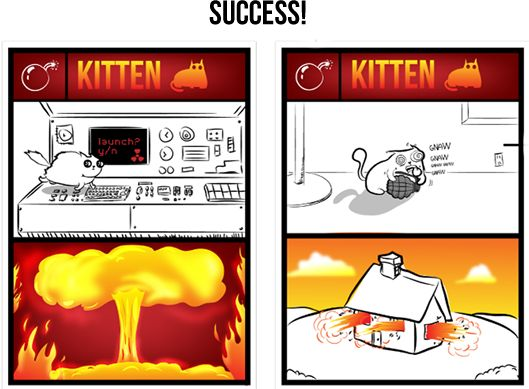 Everyone wants this new card game!    Exploding Kittens by Elan Lee — Kickstarter