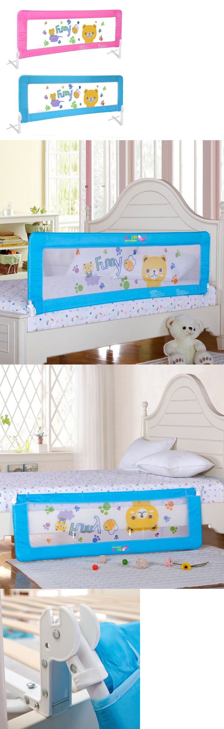 Bed Rails 162183 Double Sided Swing Down Safety Rail Kids Safe Sleep Fence Protector Guard BUY IT NOW ONLY 6199 On EBay