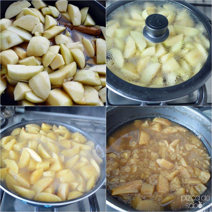 Cómo hacer puré de manzana casero www.pizcadesabor.com