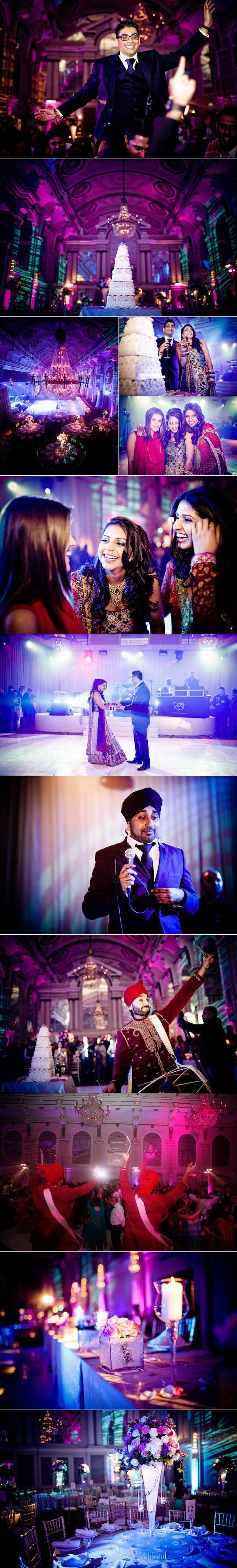 lavish indian wedding receptions | Real Wedding: Lavish Wedding Reception At London's Connaught Rooms