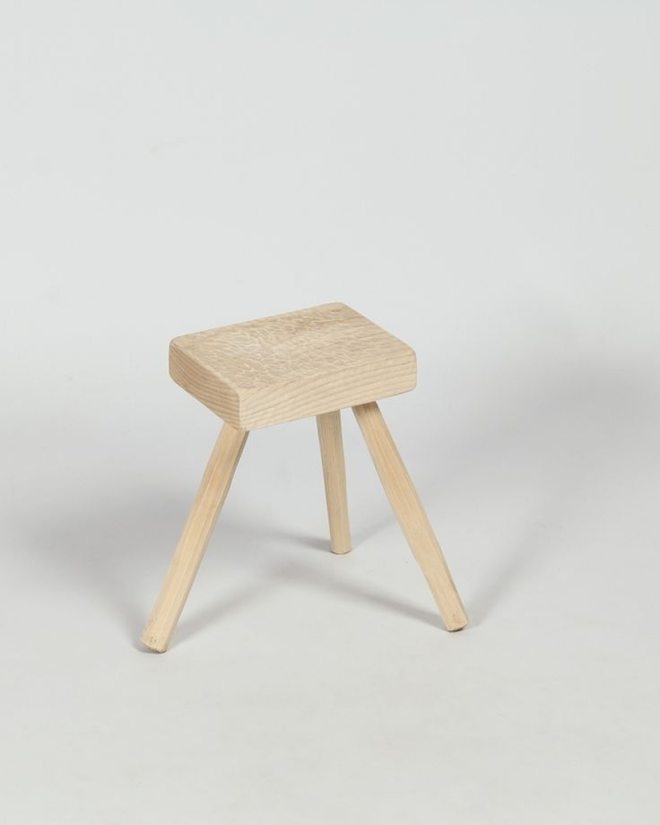 Stool | Three Legged | Seating | Irish Craft | Gouged | Shop | Design and Craft | Gifts | Makers&Brothers | Makers & Brothers | Wooden Stool | Interiors