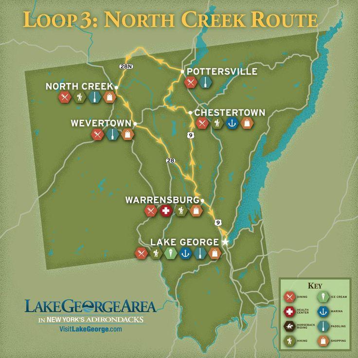 Americade Loop 3 North Creek Route vacationeer