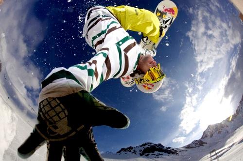 snow boarding sweetness.
