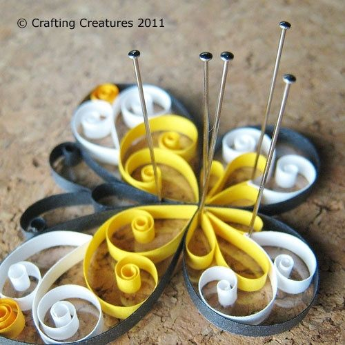 quilled butterfly tutorial by stelladraw