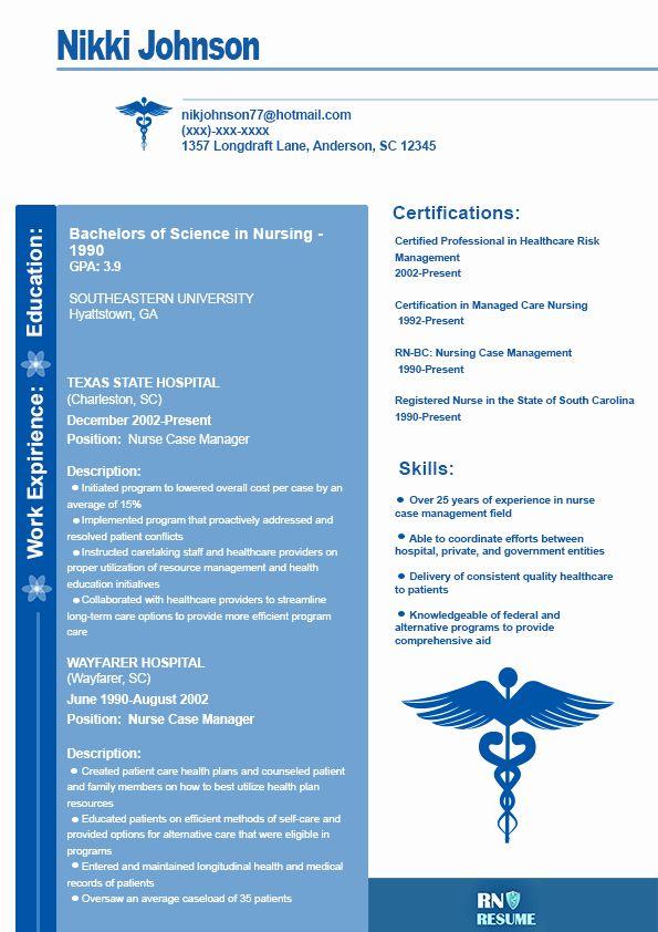 Case Manager Job Description Resume Inspirational Help With Nurse Case Manager Resume Nurse Job Description Nursing Jobs Critical Care Nursing