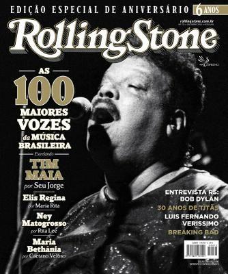 Tim Maia - Capa Rolling Stone Brasil 73 -  Foi cantor, compositor, produtor, maestro, multi-instrumentista e empresario, responsavel pela introducao do estilo soul na musica popular brasileira e reconhecido mundialmente como um dos maiores icones da musica no Brasil.