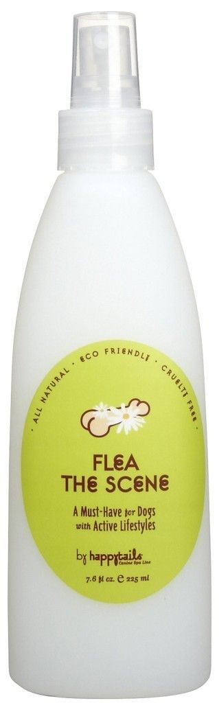 FLEA THE SCENE INSECT SPRAY. Now taking your dog on a hike, playing in the yard and going on vacation doesn't have to be such an itchy experience. Perfect for summer, all natural Flea the Scene is a 3 in 1 spray that will take the sting out of flea season. http://www.fortailsonly.com/flea-the-scene-insect-spray-6oz/