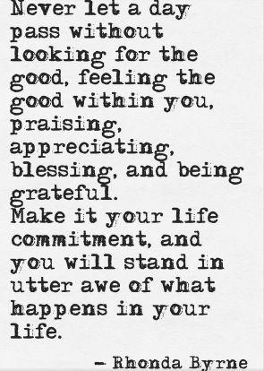 daily reminder of gratitude