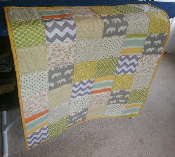 92 best Gender Neutral Baby Quilts...sew cute! images on Pinterest ... : neutral baby quilt - Adamdwight.com