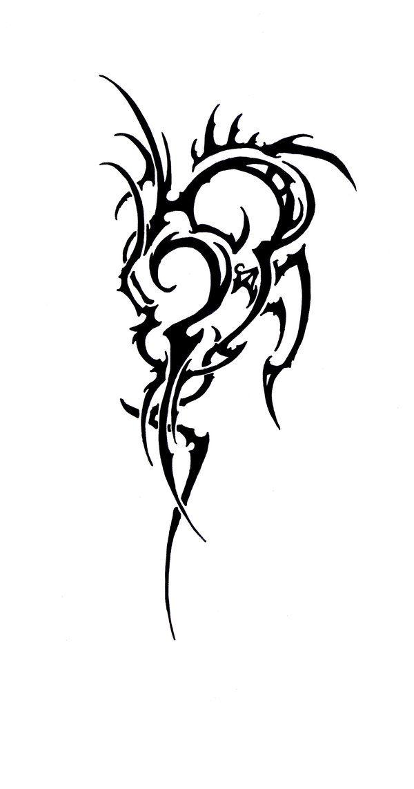 Elven Tribal - Tattoo Study 4 by Elbie3rd on deviantART