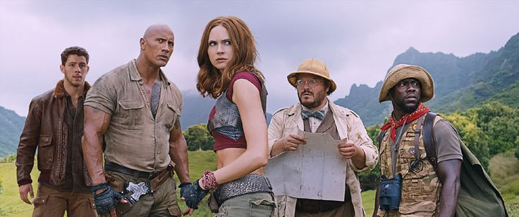 'JUMANJI: WELCOME TO THE JUNGLE' adds meta comedy to the epic action «  FreshFiction.tv