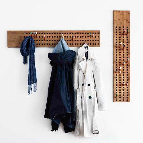 Horizontal Coat Rack by We Do Wood | MONOQI #bestofdesign