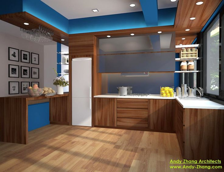 Simplicity Kitchen - Wide View