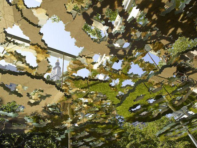 Enter a Mirage with Teresita Fernandez's Mirrored Canopy - Creators