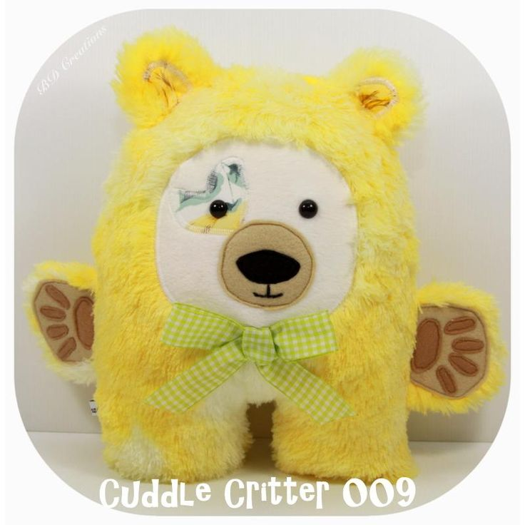 $55.00 Cuddle Critter 009 by bdcreations on Handmade Australia