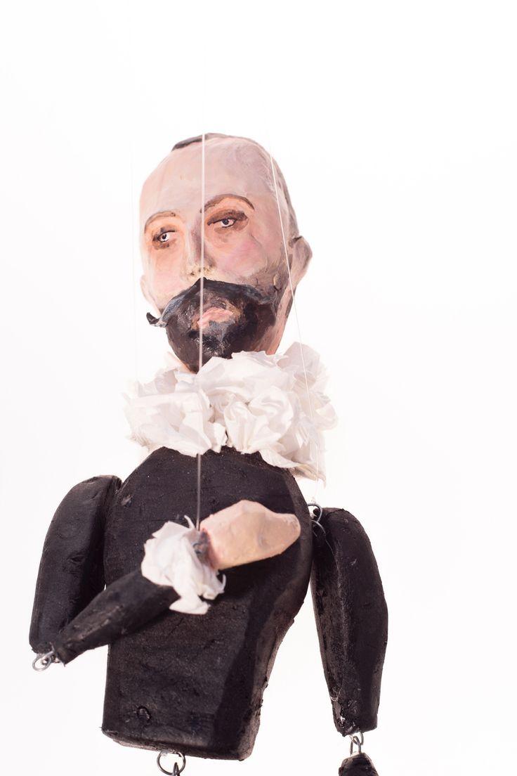 Puppet made by Sandra Barragán. #elgreco