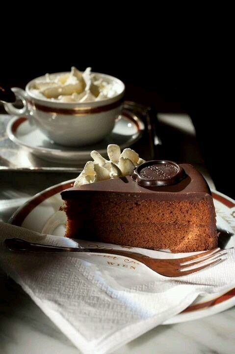 Have you enjoyed this Viennese tradition? http://www.aholeinmyshoe.com/sacher-torte-in-vienna/
