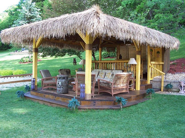 95 best images about backyard beach tiki bar ideas on for Beach hut designs