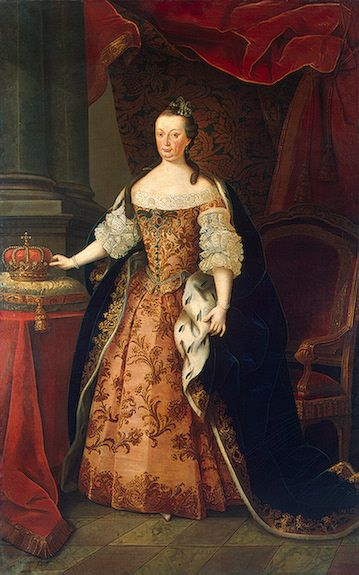 Miguel António do Amaral (1710–1780) Portrait of Mariana Victoria of Spain (1718-1781), Queen consort of Portugal Date circa 1773