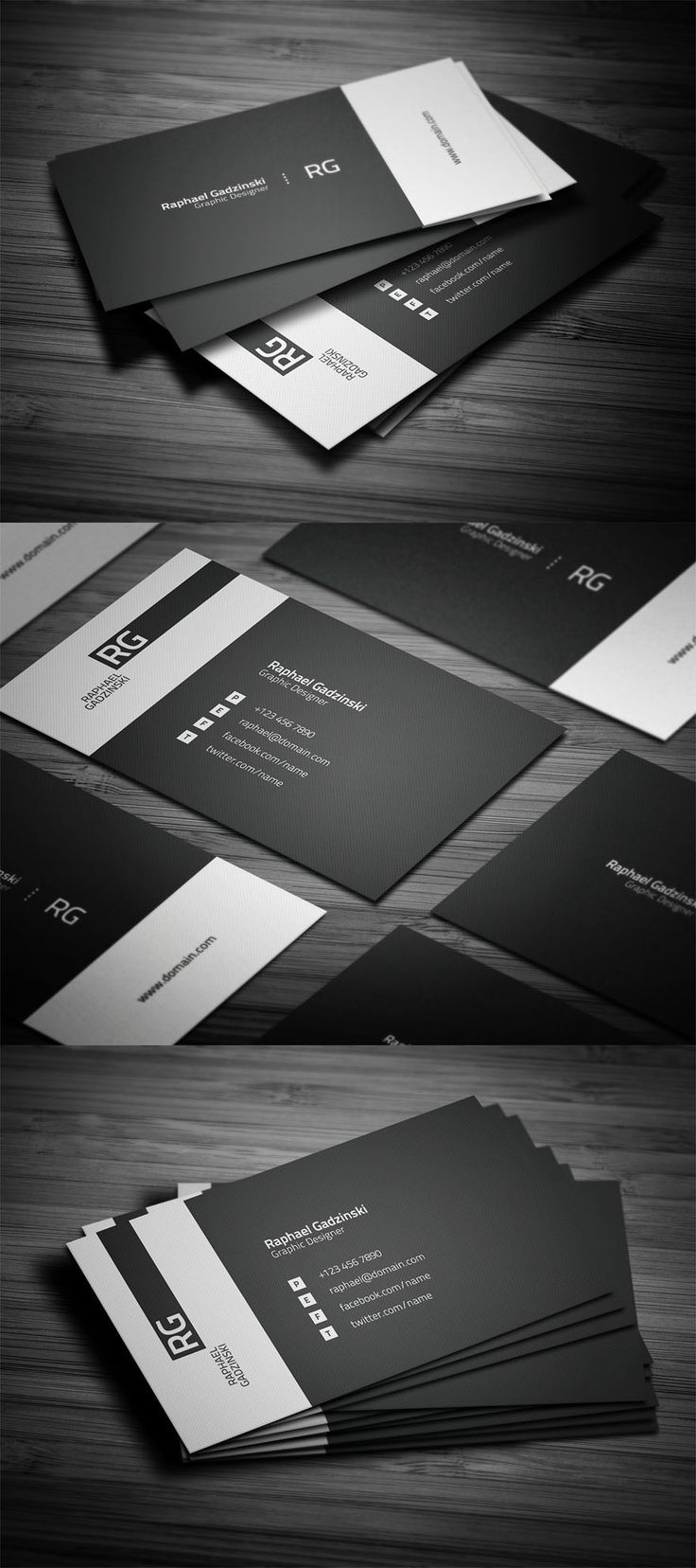 289 Best Graphic Design Business Cards Images On Pinterest