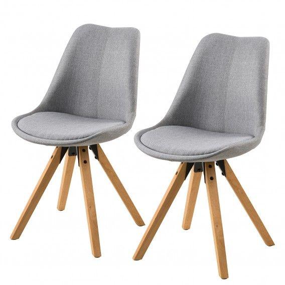 Polsterstuhl Aledas Ii 2er Set Polsterstuhl Stühle Und