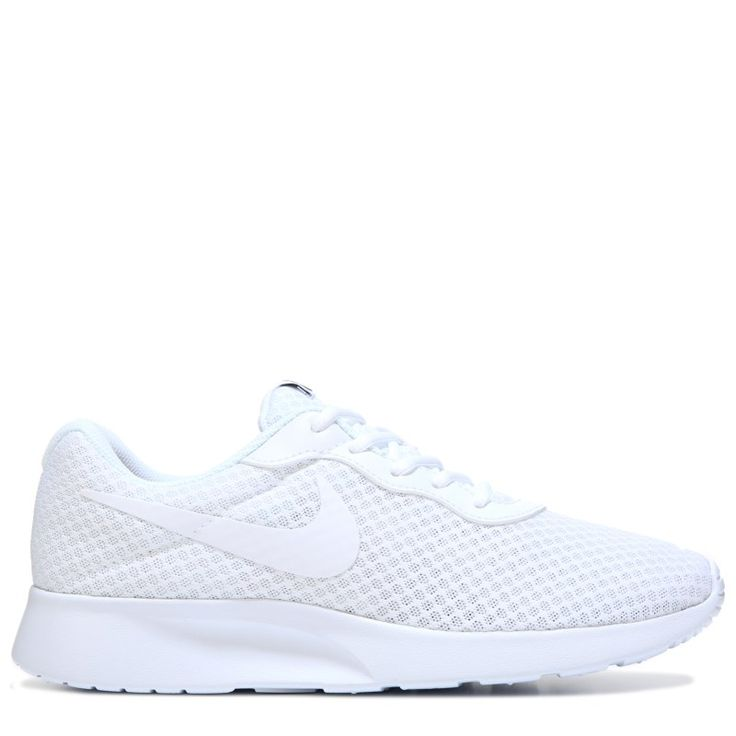 Nike Men's Tanjun Sneakers (White/White) - 10.0 M