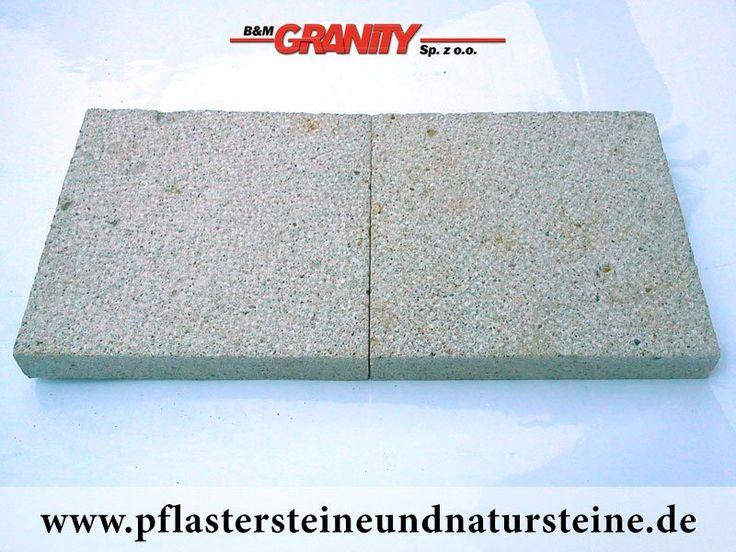 Firma B&M GRANITY bietet diverse Steinplatten an. Platten können so unterschiedlich (Farbe, Form, Bearbeitungsmethode) sein…Diesmal – sehr schöne, frostbeständige Platten aus Sandstein (Sandstein-Platten). Man kann auch mit diesem Stein andere Natursteine wunderbar zusammenbauen und zusammenstellen.  http://www.pflastersteineundnatursteine.de/fotogalerie/platten/