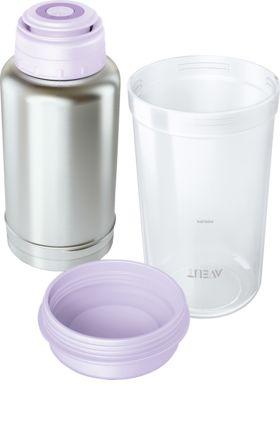 Der Flaschenwärmer von Philips AVENT ist ein idealer Milch- und Nahrungswärmer für unterwegs. Die Thermosflasche hält das Wasser so warm, dass sich auch...
