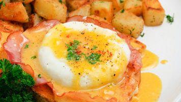 Vejce Benedikt na zlehka osmahnutém bílém chlebu. Jak uvařit zastřená vejce a jak z nich připravit vynikající toust, ukazuje Vladimír Honzák, šéfkuchař pražské restaurace La Gare.