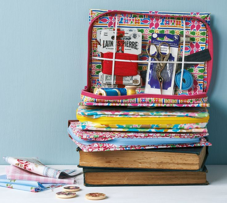Tutorial - Turn a book into a sewing case