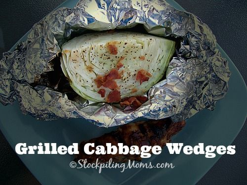 Grilled Cabbage Wedges are packed full of goodness and simple to make! #Paleo #GlutenFree