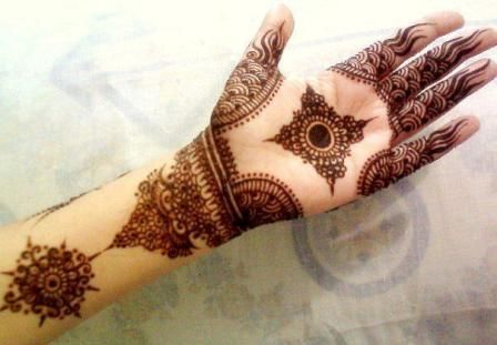 Beautiful Bridal mehendi design
