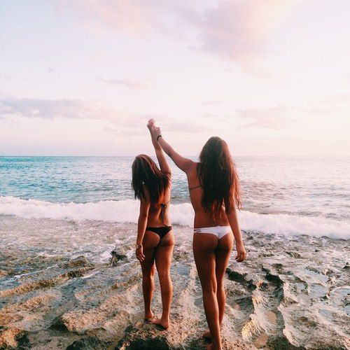 91 Best At The Beach Images On Pinterest: Squad Goals :: Soul Sisters :: Girl Friends :: Best