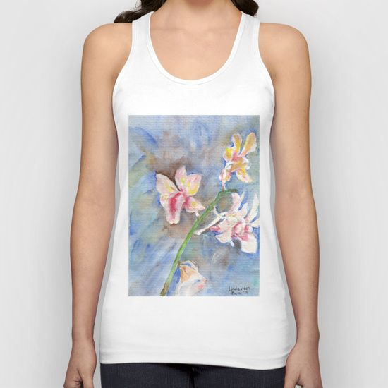 Tropical Orchid Unisex Tank Top