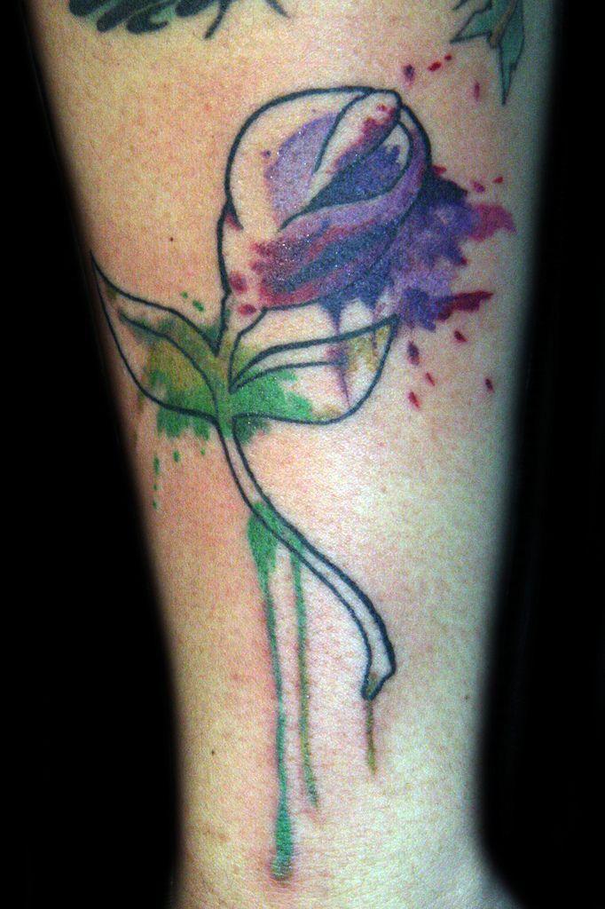 Watercolor Tattoo Flower Tattoo Lilies Lily Tattoo: 38 Best Watercolor Lily Tattoo Designs Images On Pinterest
