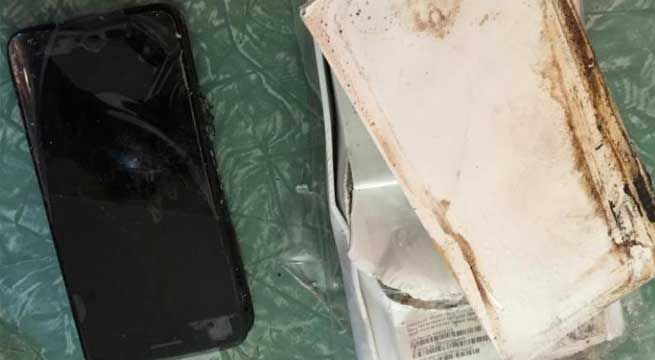 New Delhi: Australian smartphone repair shop owner Simon Owen claims that an iPhone exploded in a customer's hand. Simon shared the CCTV footage on social media platform. The video shows smoke coming out of an iPhone 6 Plus just moments after a customer walks into the store. The owner also...