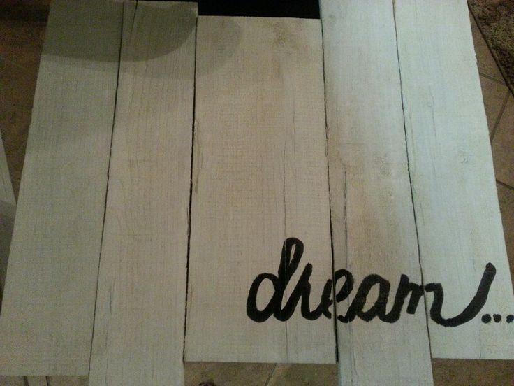 Pallet board dream #reclaimed wood