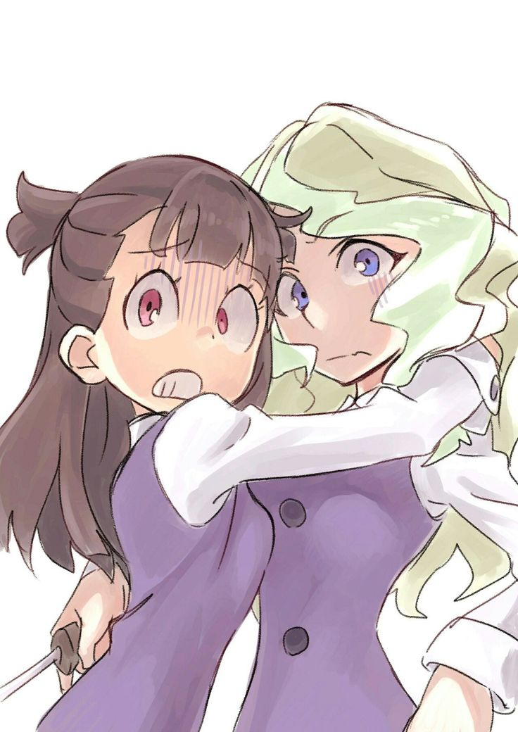 Akko x Diana (Little Witch Academia)
